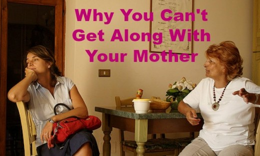 If you've tried to get along with your mother but failed miserably, her crazy making behaviors may be the reason.