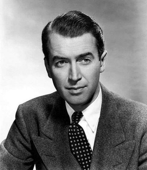 "The late Jimmy Stewart. Actor best known for the classic, ""A Wonderful Life,"" but did you know that he was once a male cheerleader?"