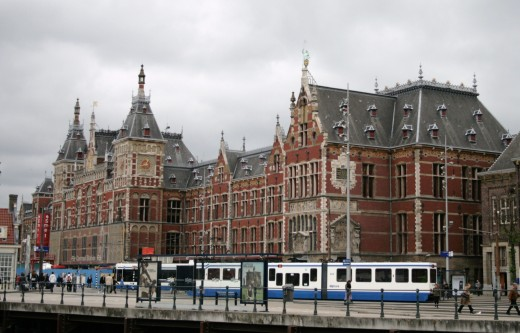 Amsterdam Centraal Station is the city's largest railway station