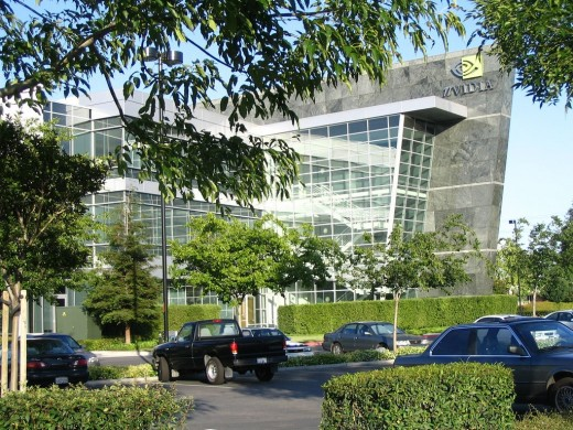 Nvidia's Santa Clara, California head office.