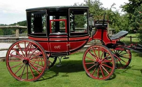 Victorian touring coach.