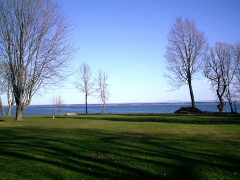 Lac Saint-Francois  (near the Ontario-Quebec border)