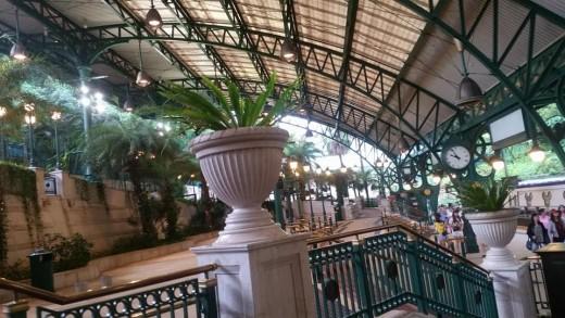 Arrived at Disney Resort Station. The best station I've ever been to!