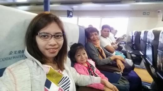 Inside Cotai Water Jet