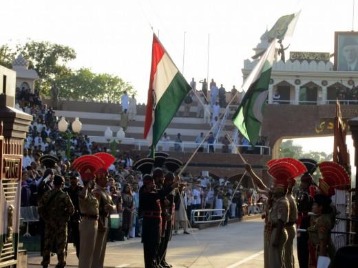 Wagha Border, Amritsar