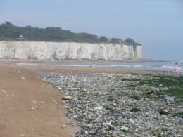 beach below eastern esplanade