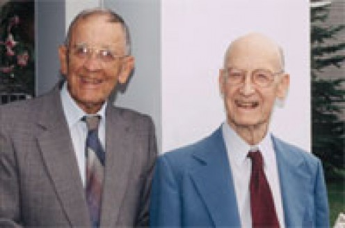 The Cleveland brothers, Bob and Gerald, from Syracuse lived well with diabetes from 1925 and 1932, respectively--for more than 160 years between them.  Not surprisingly, they both were physically active throughout their lifetimes!