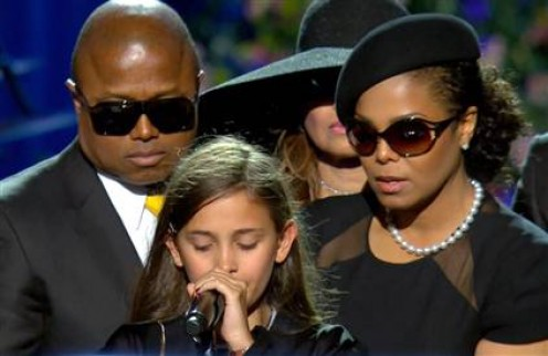 Michael's Emotional 11 year old Daughter Paris Katherine Jackson.