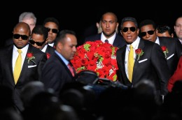 The Jackson Brother's Excorting The Casket