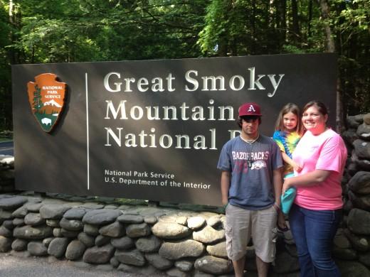 The Great Smoky Mountains, Gatlinburg, TN