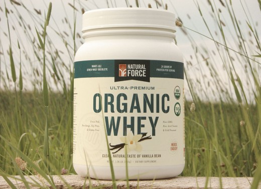 Natural Force Organic Whey is cold processed, undenatured, and has only three ingredients.