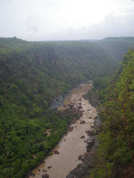 On the way to Pachmarhi from Pipariya