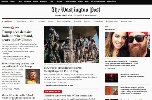 You can actually start something like washington post, but its advisable you start small