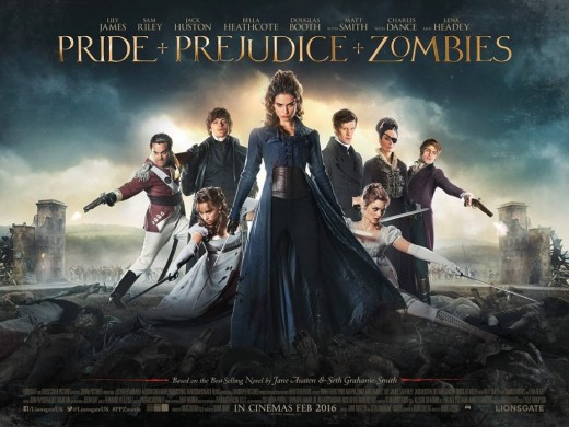 The 2016 version was based on an adaptation of Austen's novel by Seth-Graham Smith who incorporated Zombies to the plot of Austen's original.