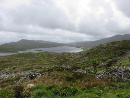 Views from Man of Storr, Isle of Skye