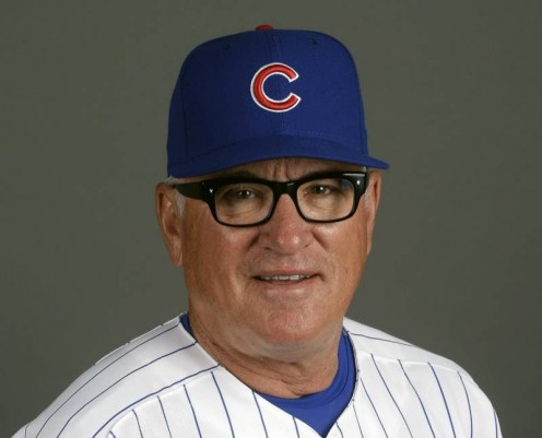 Joe Maddon Cubs' manager.