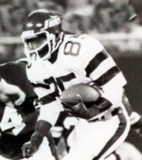 1981 NFL New York Jets  Wide Receiver Wesley Walker  Press Photo.