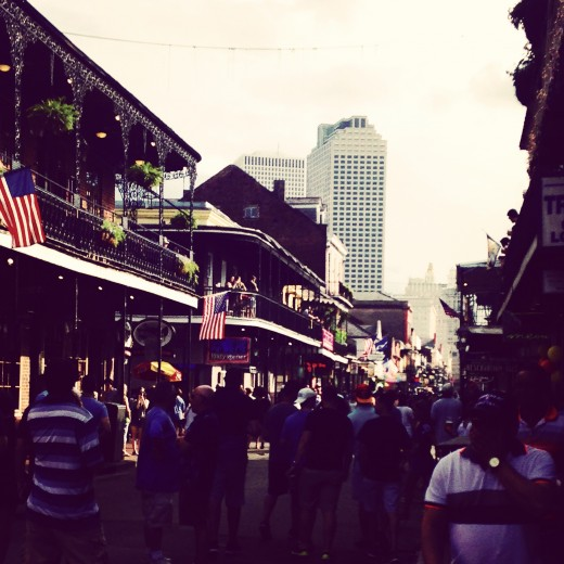 Another Excellent shot of Downtown New Orleans