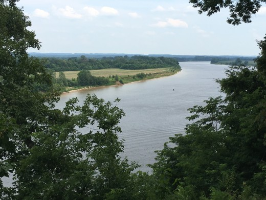 The View of The Tennessee River from Shiloh