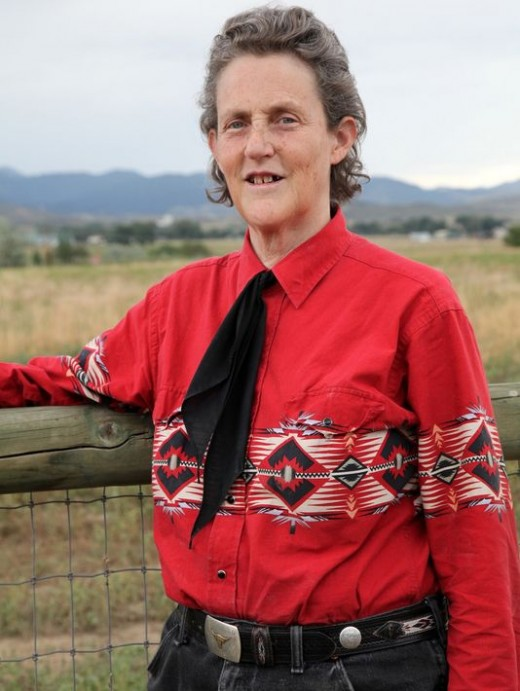 Temple Grandin, one of the pioneers of modern autism. She writes books on the subject and is a professor at Colorado University.