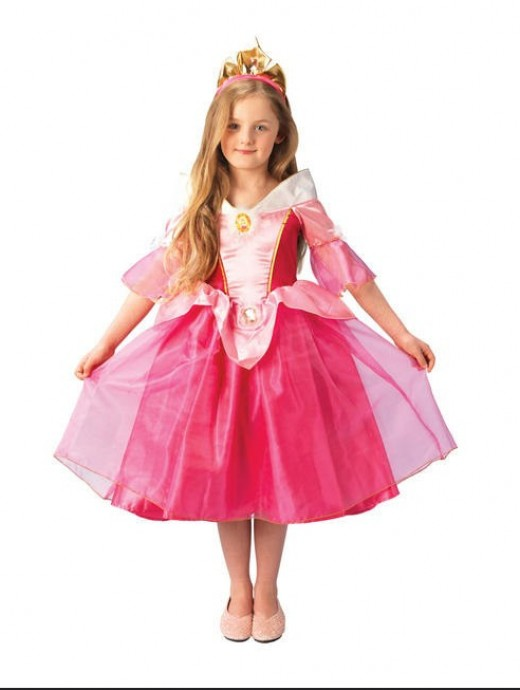 Girls in princess dresses become observers, not doers.