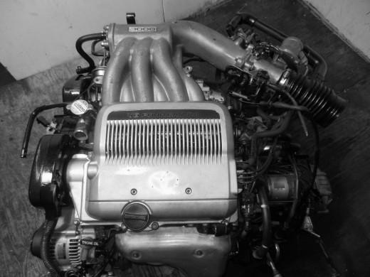 A Camry's 3VZ-FE V6 Motor