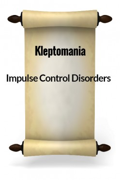 Impulse Control Disorders - Kleptomania