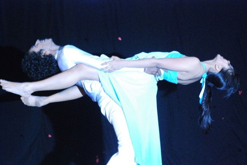 Dancing with the stars at  Mood Indigo'09