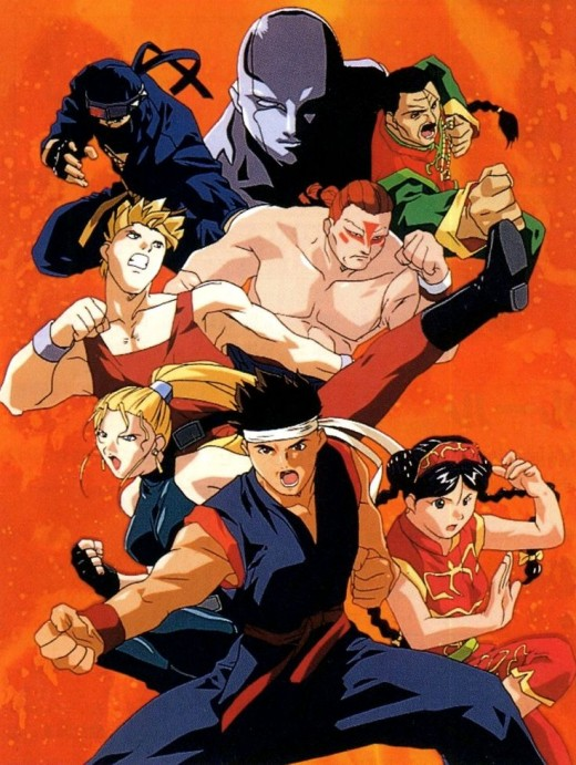 Major Virtua Fighter Characters