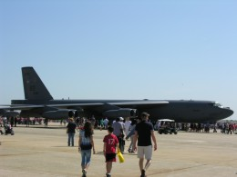 A B-52, tail number 60-0035, at Andrews AFB, May 2012.