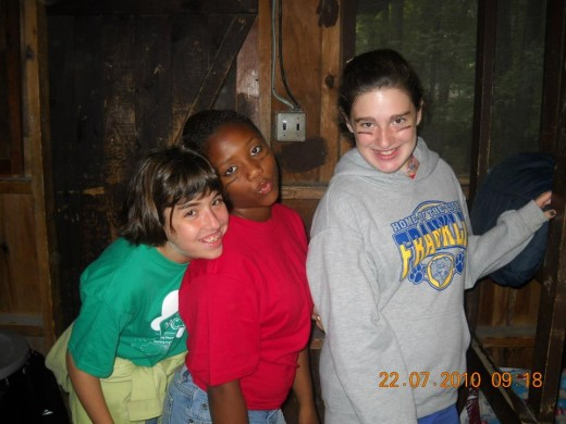 My first year at Sleepaway Camp, July 2010