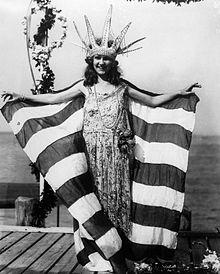 Margaret Gorman the first  Miss America Sept 8 1921.