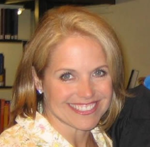 Katie Couric, former celebrity of Today Show.