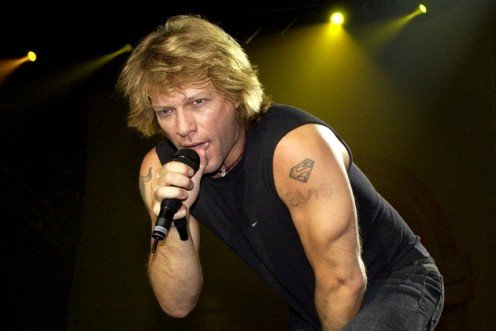 Could Jon Bon Jovi on one future day, be singing a song that he wrong for me?