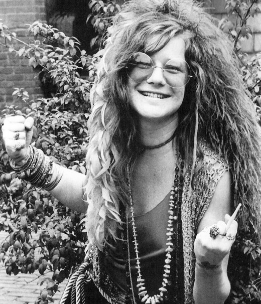 Rock in the 60's was a progressive era for women's liberation. Janis Joplin was an idol for women in 60's America, even today.