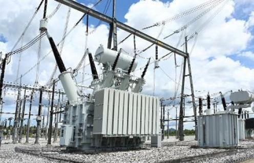 Feeder transformer, 250,000 volts to 20,000 volts.