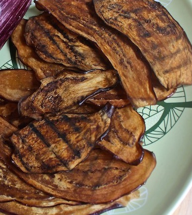 Vegan Breakfast Recipes - Eggplant Bacon