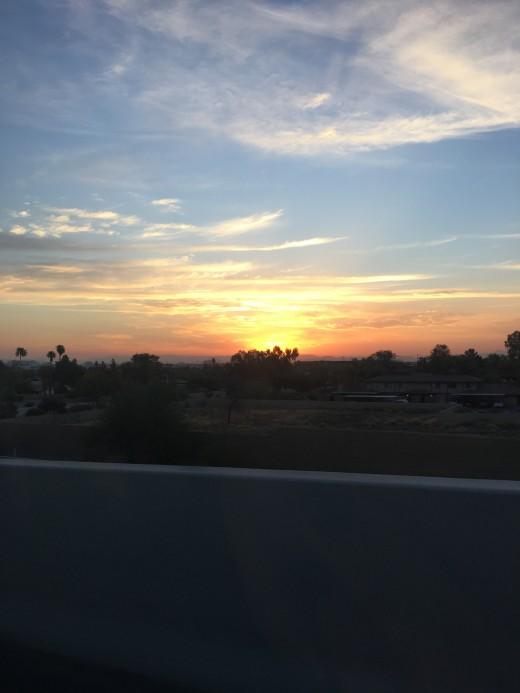 Those AZ sunrises that I miss so much..