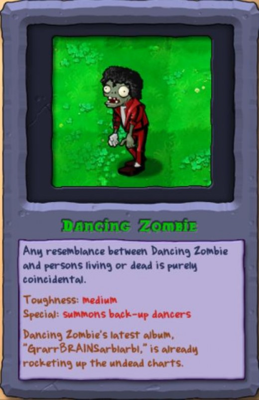 Zombie Jackson in Games