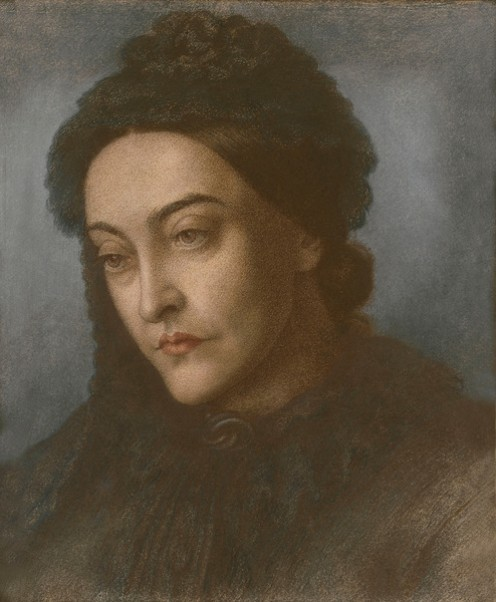 Portrait of Christina Rossetti 1877
