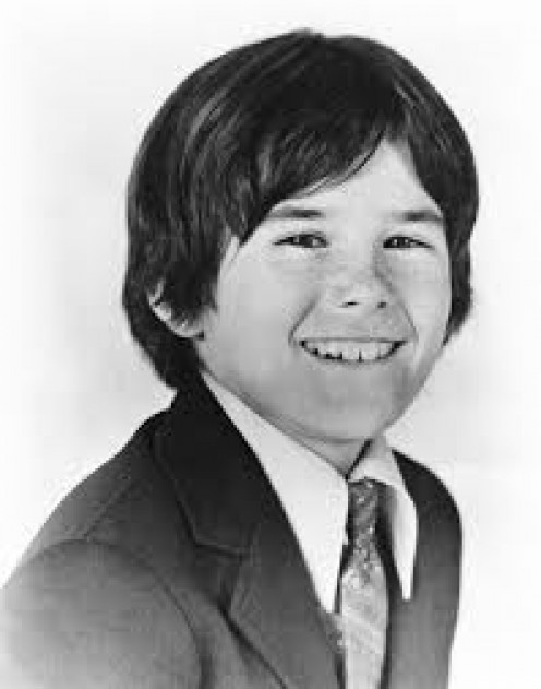 "Brandon Cruz, starred as ""Eddie,"" in ""The Courtship of Eddie's Father,"" with Bill Bixby."