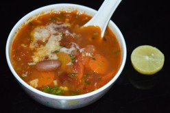 Kidney beans(Rajma) and Vegetables Soup