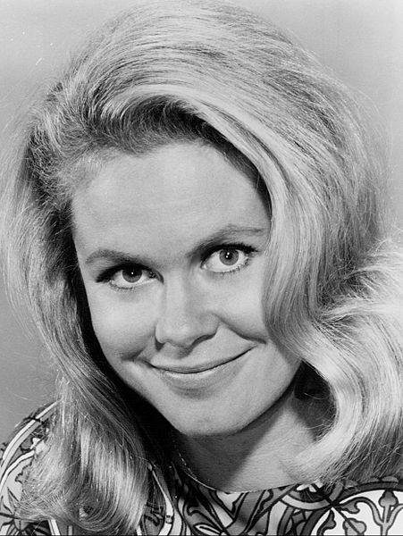 "Elizabeth Montgomery in 1967. She was ""Samantha"" on Bewitched."