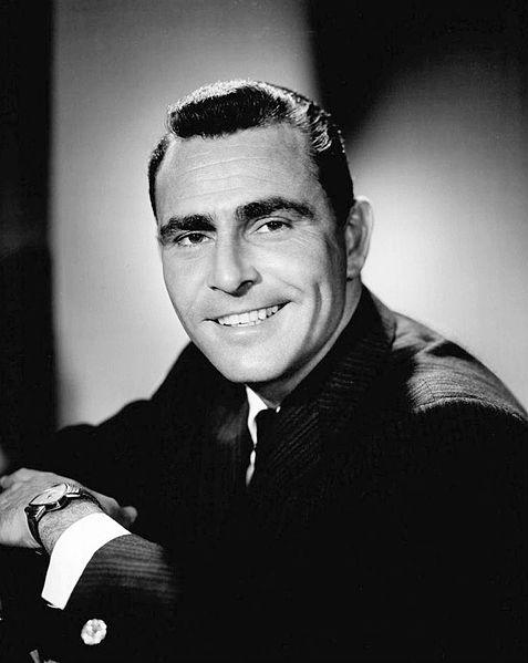 Rod  Serling  Aug. 27 1959, creator of Twilight Zone.