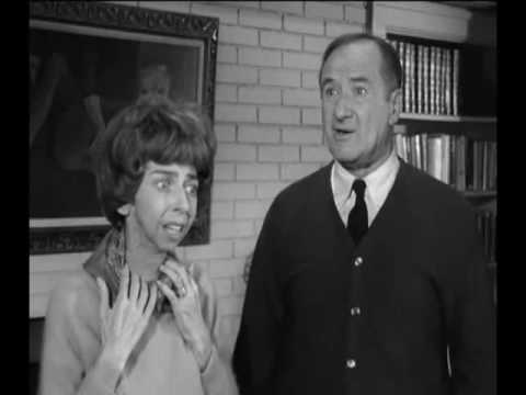 "Alice Pearce (left) was ""Gladys Kravitz,""  and George Tobias was Richard Jaeckel "" Mr. Kravitz."""