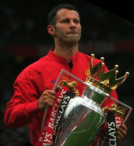 Ryan Giggs- the Premier League Best XI's captain