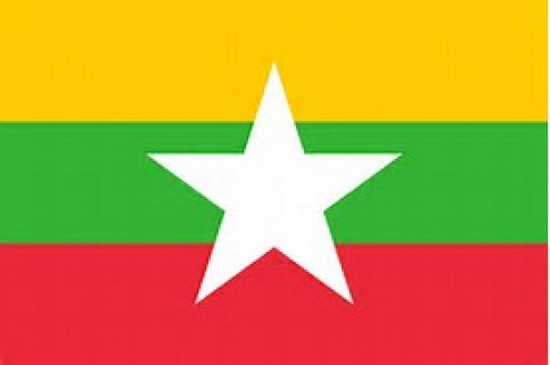 Myanmar is 261, 227 square miles and it has just under 60 million people.