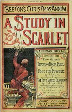 Sherlock Holmes, A Study In Scarlet by Sir Arthur Conan Doyle, summary