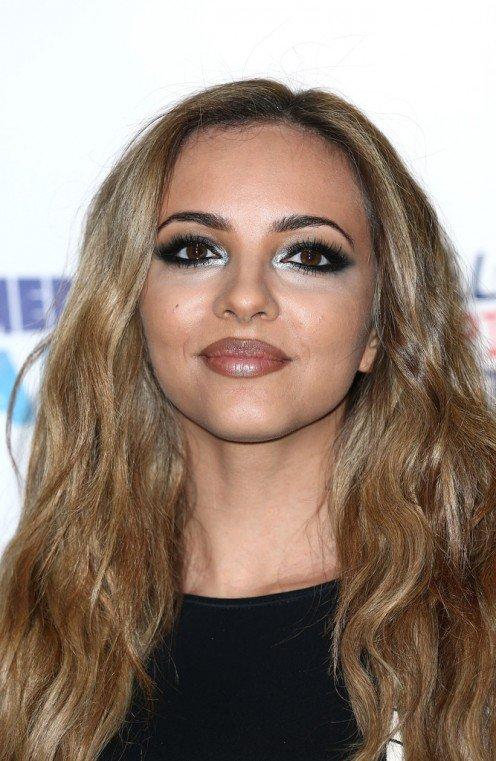 Little Mix member Perrie Edwards attends an event called the Capital Summertime Ball in London in the month of June 2014.
