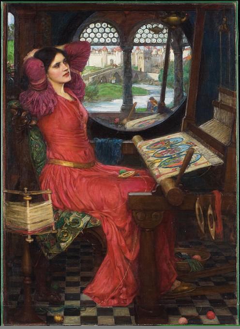 """I am half sick of shadows"" said the Lady of Shalott. (Alfred, Lord Tennyson)"